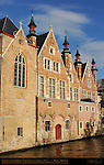 Landhuis van het Brugse Vrije, Mansion of Bruges, 16th century, Steenhouwersdijk, Bruges, Brugge, Belgium