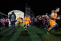 The Jaguares run out for the 2019 Super Rugby final between the Crusaders and Jaguares at Orangetheory Stadium in Christchurch, New Zealand on Saturday, 6 July 2019. Photo: Dave Lintott / lintottphoto.co.nz