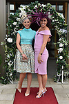 Aine Hickey and Claire O'Leary, Clonakilty, Cork pictured at the Killarney Apres Races party in The Brehon Hotel, Killarney on Thursday night.<br /> Photo: Don MacMonagle<br /> <br /> repro free photo<br /> further info: Aoife O'Donoghue aoife.odonoghue@gleneaglehotel.com