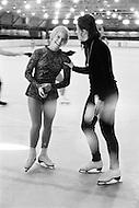 Rockford, Illinois, USA. April 1971. American figure skater World Champion Janet Lynn training in Illinois.