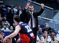 Caja Laboral Baskonia's coach Zan Tabak during Liga Endesa ACB match.January 6,2012. (ALTERPHOTOS/Acero) /NortePhoto