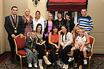 CSI participants with family members and Mayor Kevin Callan at the presentation of ESLO and CSI Certificates in the Westcourt Hotel...(Photo credit should read Jenny Matthews www.newsfile.ie)....This Picture has been sent you under the conditions enclosed by:.Newsfile Ltd..The Studio,.Millmount Abbey,.Drogheda,.Co Meath..Ireland..Tel: +353(0)41-9871240.Fax: +353(0)41-9871260.GSM: +353(0)86-2500958.email: pictures@newsfile.ie.www.newsfile.ie.