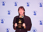 Paul McCartney 1990  33rd Annual GRAMMY Awards .Lifetime Achievement Award.© Chris Walter.