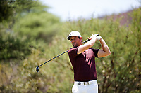 Lucas Bjerregaard (DEN) during the final round of the Nedbank Golf Challenge hosted by Gary Player,  Gary Player country Club, Sun City, Rustenburg, South Africa. 11/11/2018 <br /> Picture: Golffile | Tyrone Winfield<br /> <br /> <br /> All photo usage must carry mandatory copyright credit (&copy; Golffile | Tyrone Winfield)
