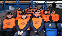 Blackburn Rovers Ball Boys at the start of todays match<br /> <br /> Photographer Rachel Holborn/CameraSport<br /> <br /> The EFL Sky Bet League One - Blackburn Rovers v Shrewsbury Town - Saturday 13th January 2018 - Ewood Park - Blackburn<br /> <br /> World Copyright &copy; 2018 CameraSport. All rights reserved. 43 Linden Ave. Countesthorpe. Leicester. England. LE8 5PG - Tel: +44 (0) 116 277 4147 - admin@camerasport.com - www.camerasport.com
