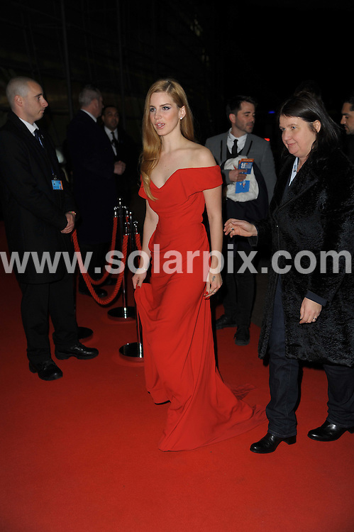 **ALL ROUND PICTURES FROM SOLARPIX.COM**                                             **WORLDWIDE SYNDICATION RIGHTS**                                                                                  Stars arrive at London's O2 Arena for the 2012 Brit Awards..This pic:   Lana Del Ray                        .JOB REF:    14495   MSR     DATE:   22.02.12                                                         **MUST CREDIT SOLARPIX.COM OR DOUBLE FEE WILL BE CHARGED**                                                                      **MUST AGREE FEE BEFORE ONLINE USAGE**                               **CALL US ON: +34 952 811 768 or LOW RATE FROM UK 0844 617 7637**