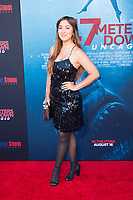 Los Angeles, CA - AUGUST 13th: <br /> Marilyn Flores attends the 47 Meters Down: Uncaged premiere at the Regency Village Theater on August 13th 2019. Credit: Tony Forte/MediaPunch