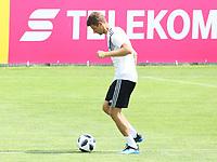 Thomas Mueller (Deutschland Germany) - 31.05.2018: Training der Deutschen Nationalmannschaft zur WM-Vorbereitung in der Sportzone Rungg in Eppan/Südtirol