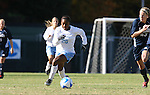 24 November 2007: North Carolina's Nikki Washington (26) and Notre Dame's Elise Weber (23). The University of Notre Dame Fighting Irish defeated University of North Carolina Tar Heels 3-2 at Fetzer Field in Chapel Hill, North Carolina in a Third Round NCAA Division I Womens Soccer Tournament game.