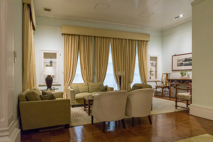 A small sitting area at the far end of the Drawing Room.