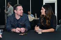 """NEW YORK - OCTOBER 5: Michael Mosley and Fernanda Andrade attend the press room for FOX's """"neXt"""" during the 2019 NY Comic-Con at the Jacob Javits Convention Center on October 5, 2019 in New York City. (Photo by Anthony Behar/FOX/PictureGroup)"""