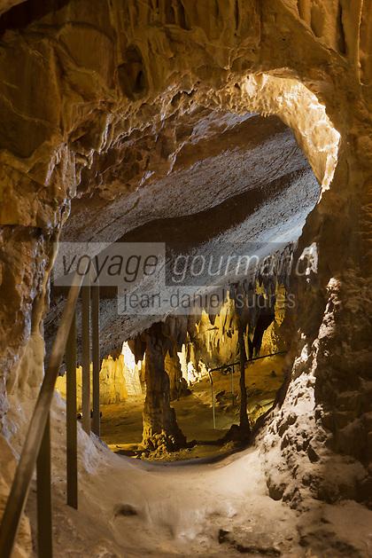 Europe/France/Aquitaine/64/Pyrénées-Atlantiques/Pays-Basque: Grottes d'Isturitz et d'Oxocelhaya [Non destiné à un usage publicitaire - Not intended for an advertising use]