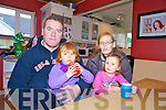 JOhn and Jane O'Donoghue and two of their children Keelan and Sarah, from Arbutas Grove, Killarney, who have had no water in their home for nine days due to the freezing conditions.