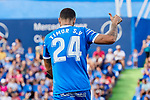 David Timor of Getafe CF during La Liga match between Getafe CF and Deportivo Alaves at Colisseum Alfonso Perez in Getafe, Spain. August 31, 2019. (ALTERPHOTOS/A. Perez Meca)