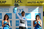 Egan Bernal (COL) Team Ineos retains the young riders White Jersey at the end of Stage 17 of the 2019 Tour de France running 200km from Pont du Gard to Gap, France. 24th July 2019.<br /> Picture: ASO/Alex Broadway | Cyclefile<br /> All photos usage must carry mandatory copyright credit (© Cyclefile | ASO/Alex Broadway)