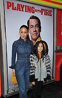"LONDON, ENGLAND - DECEMBER 01: Vicky Lee and her daughter Vera Bradshaw at the ""Playing With Fire"" celebrity screening, Cineworld Leicester Square, Leicester Square on Sunday 01 December 2019 in London, England, UK. <br /> CAP/CAN<br /> ©CAN/Capital Pictures"