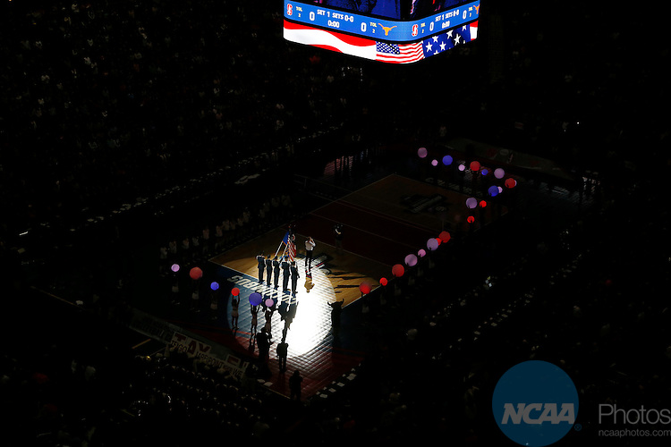 COLUMBUS, OH - DECEMBER 17:  The University of Texas takes on Stanford University during the Division I Women's Volleyball Championship held at Nationwide Arena on December 17, 2016 in Columbus, Ohio.  Stanford beat Texas 3-1 to win the national title.  (Photo by Jay LaPrete/NCAA Photos via Getty Images)