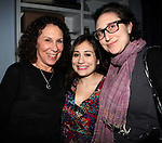 "Rhea Pearlman, Lucy Devito, Gracie Devito backstage at   ""Celebrity Autobiography: In Their Own Words,"" the acclaimed, long-running LA- based comedy sensation at the Triad Theater in New York City..December 7, 2009."