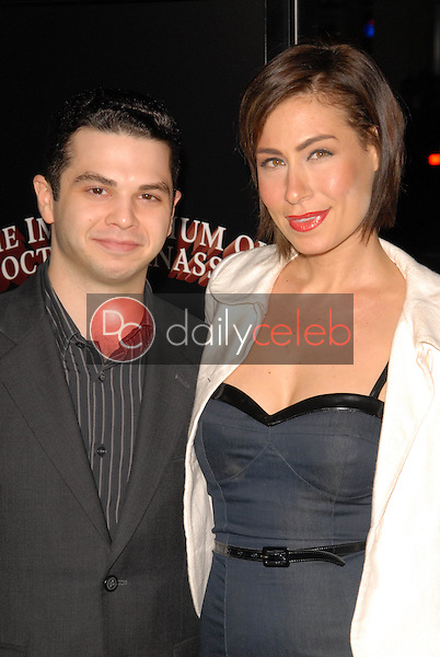 Samm Levine and Amber Melthi<br />