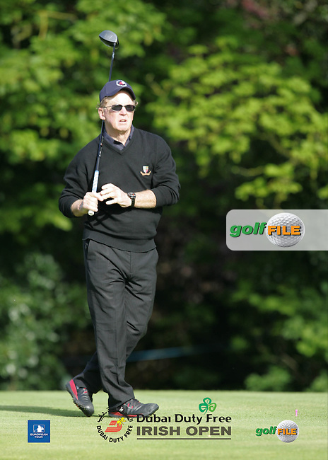 Bernie Maguire during Wednesday's Pro-Am ahead of the 2016 Dubai Duty Free Irish Open Hosted by The Rory Foundation which is played at the K Club Golf Resort, Straffan, Co. Kildare, Ireland. 18/05/2016. Picture Golffile | TJ Caffrey.<br /> <br /> All photo usage must display a mandatory copyright credit as: &copy; Golffile | TJ Caffrey.