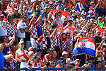 08.06.2019., stadium Gradski vrt, Osijek - UEFA Euro 2020 Qualifying, Group E, Croatia vs. Wales. Fans in the stands.<br /> <br /> Foto © nordphoto / Davor Javorovic/PIXSELL