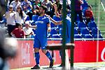 Getafe CF's Jorge Molina celebrates goal during La Liga match. May 05,2019. (ALTERPHOTOS/Alconada)