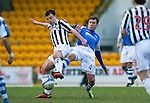 St Johnstone v St Mirren.....23.02.13      SPL.Paul McGowan and Paddy Cregg.Picture by Graeme Hart..Copyright Perthshire Picture Agency.Tel: 01738 623350  Mobile: 07990 594431