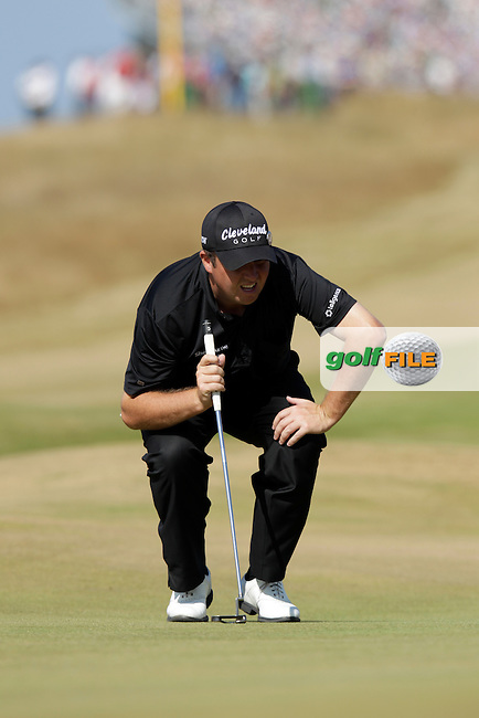 Shane LOWRY (IRL) during round two of  The 142th Open Championship Muirfield, Gullane, East Lothian, Scotland 19/7/2013<br /> Picture Eoin Clarke www.golffile.ie: