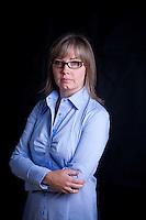 Headshots for Deb McDonald taken in 1 Athlete's Way, Vancouver BC