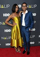 27 July 2019 - Hollywood, California - MJ Roriguez, Steven Canals. 2019 NALIP Latino Media Awards held at The Ray Dolby Ballroom. Photo Credit: Birdie Thompson/AdMedia