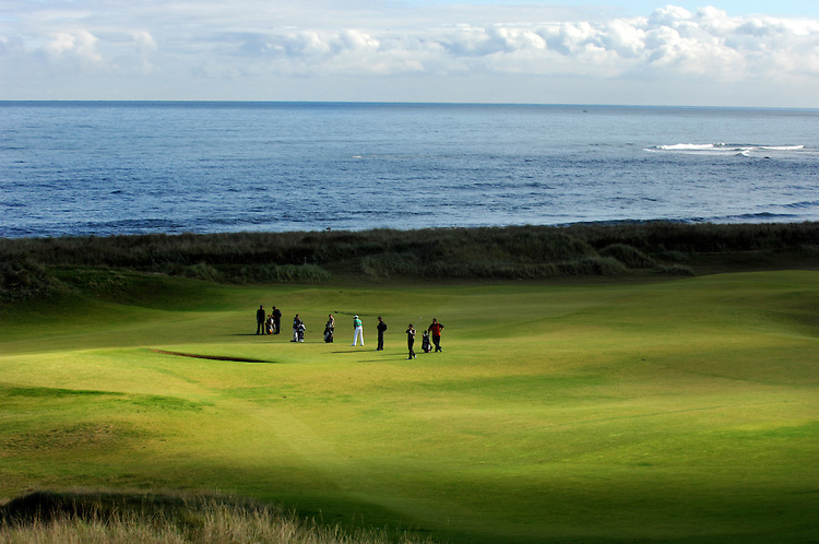 ALFRED DUNHILL LINKS CHAMPIONSHIP, ST.ANDREWS, 4-10-06.. KINGSBARNS PRACTICE DAY..PIC BY IAN MCILGORM
