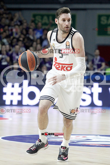 Real Madrid's Rudy Fernandez during Euroleague match.January 22,2015. (ALTERPHOTOS/Acero) /NortePhoto<br />