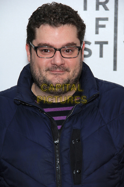 Bobby Moynihan.attend the 2012 Tribeca Film Festival Closing Night Screening of Marvel's 'The Avengers' at the Tribeca Performing Arts Center, New York, NY, USA, April 28th, 2012..portrait headshot  blue glasses beard facial hair .CAP/LNC/TOM.©LNC/Capital Pictures.