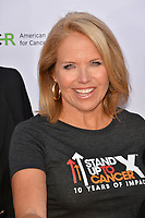 SANTA MONICA, CA. September 07, 2018: Katie Couric at the 2018 Stand Up To Cancer fundraiser at Barker Hangar, Santa Monica Airport.