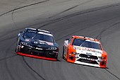 #19: Brandon Jones, Joe Gibbs Racing, Toyota Supra 1st Foundation and #98: Chase Briscoe, Stewart-Haas Racing, Ford Mustang Nutri Chomps/Blain's Farm & Fleet