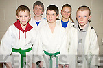 Pictured at the National Judo Championships held in the Sports and Leisure Centre, Killarney on Saturday were Daniel Murphy, Eoin O'Brien, David Long, Fiona Walz and Gary Horan, Kerry Judo Club.....NO FEE...PR SHOT....