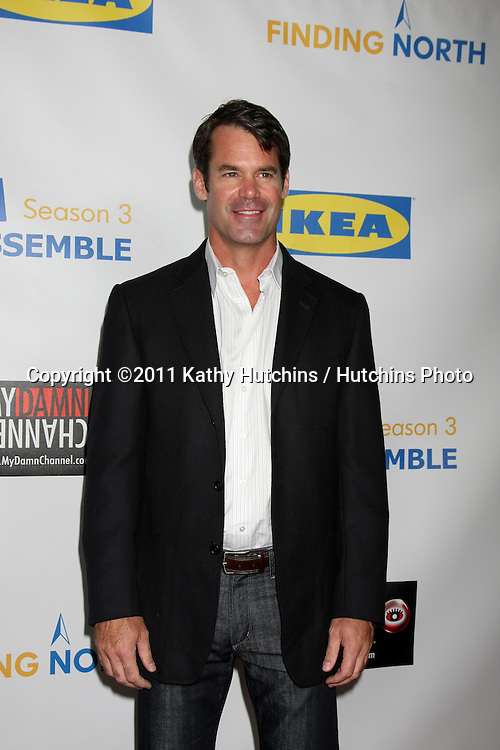 """LOS ANGELES - OCT 10:  Tuc Watkins arriving at the Web-series """"EASY TO ASSEMBLE""""  FINDING NORTH webisode Premiere at the Egyptian Theatre on October 10, 2011 in Los Angeles, CA"""