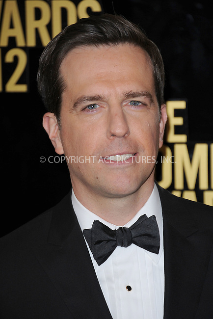 WWW.ACEPIXS.COM . . . . . .April 28, 2012...New York City....Ed Helms arriving to attend The Comedy Awards 2012 at Hammerstein Ballroom on April 28, 2012  in New York City ....Please byline: KRISTIN CALLAHAN - ACEPIXS.COM.. . . . . . ..Ace Pictures, Inc: ..tel: (212) 243 8787 or (646) 769 0430..e-mail: info@acepixs.com..web: http://www.acepixs.com .