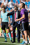 Coach Enrique Martin Monreal of Osasuna reacts during the La Liga match between Real Madrid and Osasuna at the Santiago Bernabeu Stadium on 10 September 2016 in Madrid, Spain. Photo by Diego Gonzalez Souto / Power Sport Images