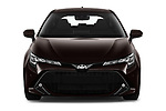 Car photography straight front view of a 2019 Toyota Corolla Dynamic 5 Door Hatchback
