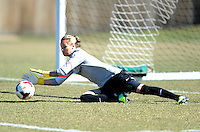 Boyds, Maryland - March 15, 2014. Ashlyn Harris of the Washington Spirit. The Washington Spirit during the Meet the Team at the Maryland SoccerPlex.