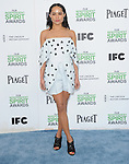 Zoë Kravitz attends The 2014 Film Independent Spirit Awards held at Santa Monica Beach in Santa Monica, California on March 01,2014                                                                               © 2014 Hollywood Press Agency