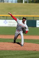 Raisel Iglesias - Surprise Saguaros - 2014 Arizona Fall League (Bill Mitchell)