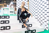 Jessica Goicoechea attends to Nomad Shoes at Ifema in Madrid, Spain September 22, 2017. (ALTERPHOTOS/Borja B.Hojas)