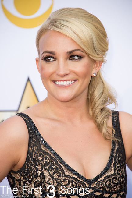 Jamie Lynn Spears attends the 50th Academy Of Country Music Awards at AT&T Stadium on April 19, 2015 in Arlington, Texas.