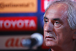 Vahid Halilhodzic (JPN), SEPTEMBER 5, 2016 - <br /> Football / Soccer : Japan's head coach Vahid Halilhodzic attends a press conference<br /> for the FIFA World Cup Russia 2018 Asian Qualifier<br /> Final Round agansit Thailand in Bangkok, Thailand.<br /> (Photo by Yusuke Nakanishi/AFLO SPORT)