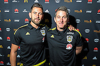 New Wellington Phoenix coaches Des Buckingham and Chris Greenacre at Newtown Park in Wellington, New Zealand on Tuesday, 6 December 2016. Photo: Dave Lintott / lintottphoto.co.nz