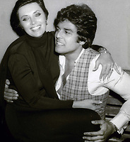 Erik Estrada and Beverly Adams Sassoon 1981<br /> Photo By John Barrett/PHOTOlink