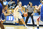 17 November 2012: Duke's Tricia Liston. The Duke University Blue Devils played the Presbyterian College Blue Hose at Cameron Indoor Stadium in Durham, North Carolina in an NCAA Division I Women's Basketball game. Duke won the game 84-45.