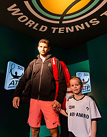 Rotterdam, The Netherlands, 17 Februari, 2018, ABNAMRO World Tennis Tournament, Ahoy, Tennis, Grigor Dimitrov (BUL)<br />